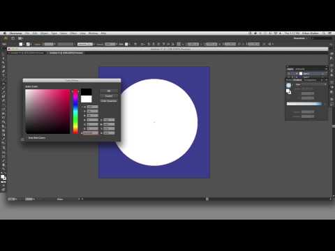 How to Design a BUBBLE SHAPE in Adobe Illustrator