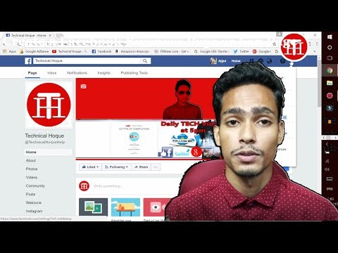 How to Create a FACEBOOK PAGE for Your Business,YouTube Channel 2018