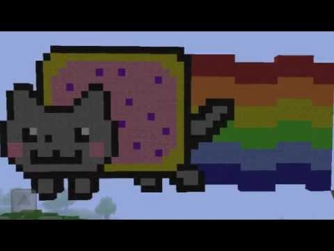 Minecraft PE Nyan Cat (With Download)