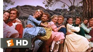 Seven Brides for Seven Brothers (5/10) Movie CLIP - The Barn Dance (1954) HD