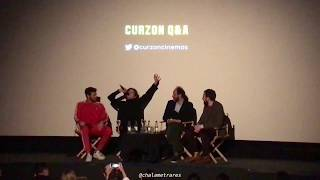 CALL ME BY YOUR NAME: london q&a with timothée chalamet, luca guadagnino and armie hammer