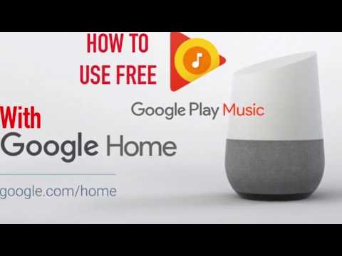 Voice Control FREE google play music account with google home