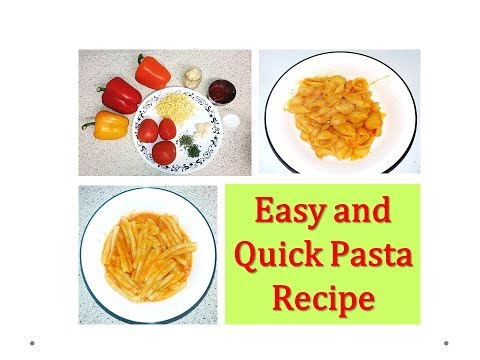 How to make Pasta without using readymade sauce ? - Easiest Pasta recipe ( Kids lunchbox recipe)