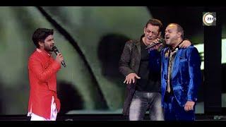Salman Ali with Salman Khan | IPML Opening ceremony | Sajid-Wajid