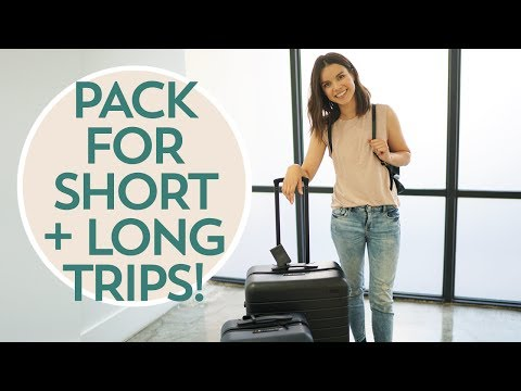 How to Pack Efficiently + Away Luggage Review! | Ingrid Nilsen
