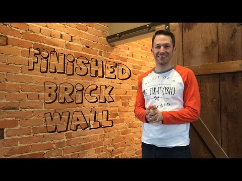 How To Almost Clean A Brick Wall Correctly -What I learned...