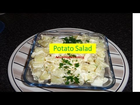 How To Prepare Potato Salad (Ghana Style)