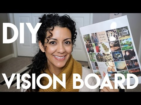DIY Vision Board using PicMonkey