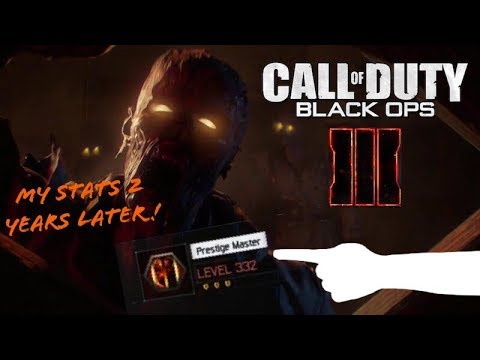 Black Ops 3 Zombies Stats 2 years Later...