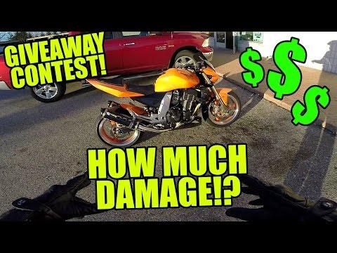 Motorcycle Crash Damage Estimate Contest!