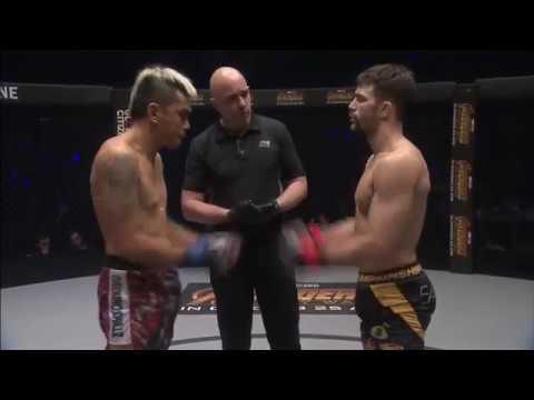 Gary Tonon mma debute full fight!