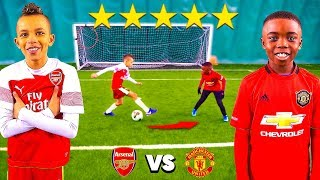 10 YEAR OLD KID POGBA vs 10 YEAR OLD AUBAMEYANG.. AMAZING Football Competition