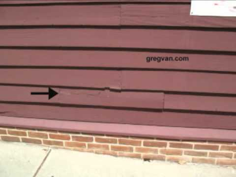 Replacement Wood Siding Tip - Using Center Cut Lumber For Home Repairs