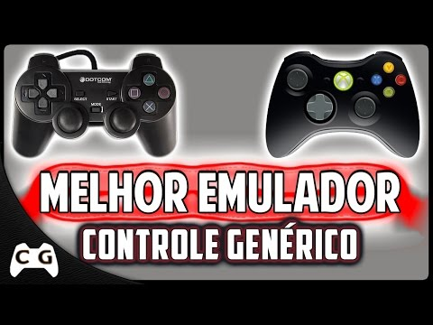 Como Configurar Controle Genérico Igual do Xbox 360 Em Qualquer Jogo
