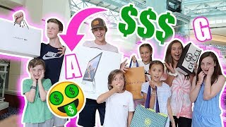 Buying EVERYTHING in ALPHABETICAL Order Challenge! Its R Life