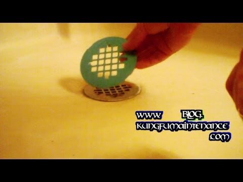 How To Replace A Tired Rusted Discolored Shower Floor Drain Cover