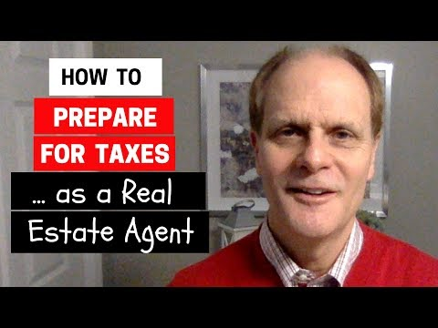 How to Prepare for Taxes as a Real Estate Agent