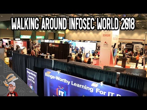 InfoSec World 2018 Opening Day Video - What I Saw
