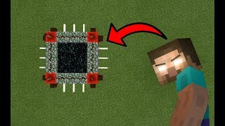 How To Make a Portal to the Herobrine Dimension in MCPE (Minecraft PE)
