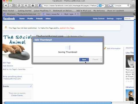 How to edit and customize your Facebook (fan) page