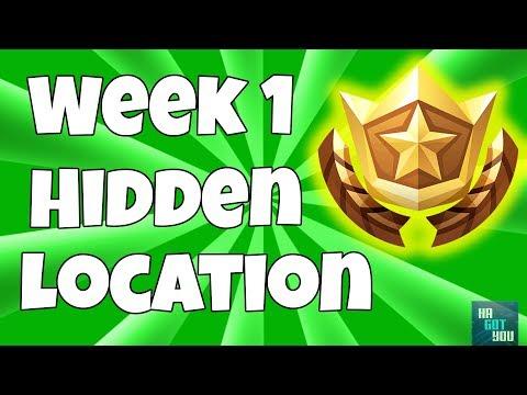 Season 5 Week 1 Free Battle Star Location (Secret Blockbuster Challenge Coordinates)
