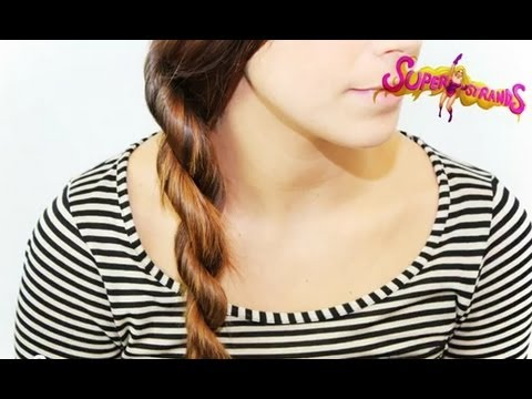 How to: Rope Braid Plait / Twist Braid Tutorial www.superstrands.com