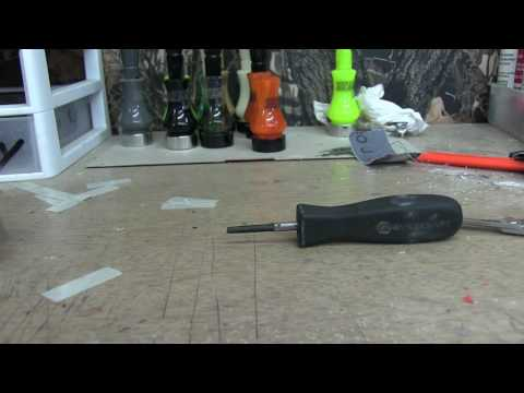 Duck call tuning
