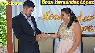 Boda Hernández López en Concepción Intibucá - Ediciones Mendoza