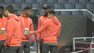 Europa League Final - Manchester United Walk Around The Friends Arena