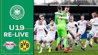 Rb Leipzig - Borussia Dortmund 10:9 N.e. | A-junioren Dfb-pokal 2018/19 | Halbfinale