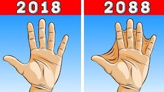 """10 تغيرات غريبة سوف تحدث للبشر , """" خلال الـ 100 عام القادمة """" .. !!"""