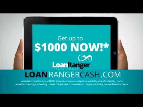 Loan Ranger Cash Loans Australia - Get Up To $1,000 Today (HD)