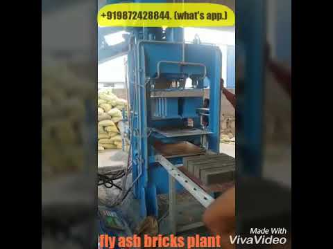Fly ash bricks making project report