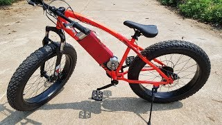 DIY Electric Bike - Power assisted bike at home