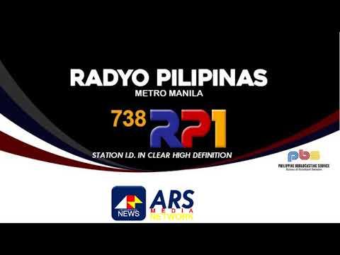 DZRP Radyo Pilipinas station ID in High Definition