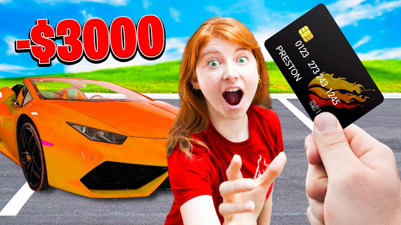 Switching Credit Cards with PRESTON for a 24 HOURS!