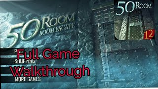 Can You Escape The 100 Room 12 FULL Game Level 1 - 50 Walkthrough