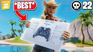 NEW *BEST* Controller Fortnite Settings/Sensitivity! (CHAPTER 2/SEASON 11 - PS4/Xbox)