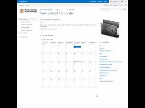 SharePoint - Change the calendar list view to a calendar view