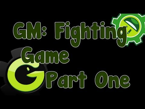 Game Maker Fighting Game/Engine Tutorial Part 1