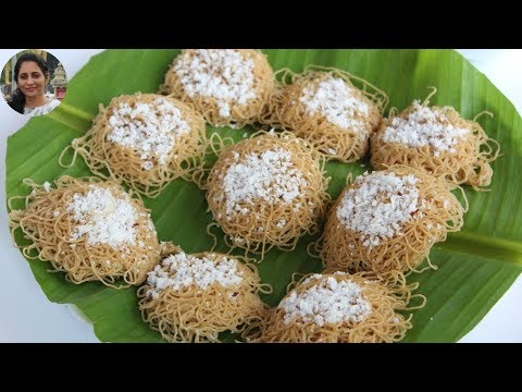 Wheat Idiyappam/Nool puttu/Noolappam -ഗോതമ്പ് ഇടിയപ്പം ഇത് പോലെ ഉണ്ടാക്കി നോക്കൂ-Reebz World