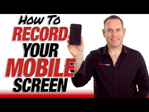 How To Screen Capture Your Mobile Devices For Video