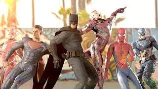 MARVEL vs. DC | EPIC DANCE BATTLES! ( THE AVENGERS vs. JUSTICE LEAGUE )