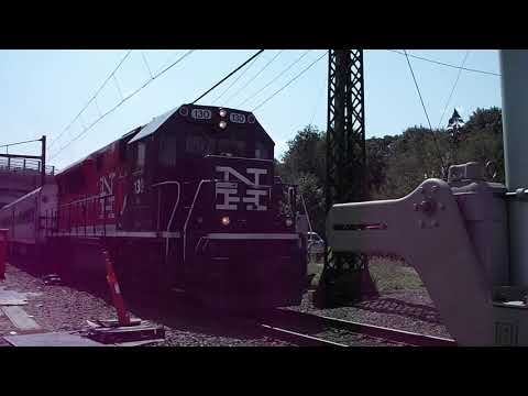 Danbury Line Commuter Train with New Haven Markings