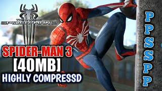 45MB} SPIDER-MAN 3 Download for Android PPSSPP Emulator with