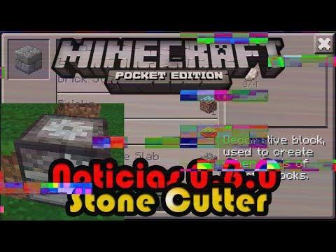 Noticias Minecraft PE 0.6.0 | Stone Cutter o Cortadora de Piedra | Johan Bernhardsson