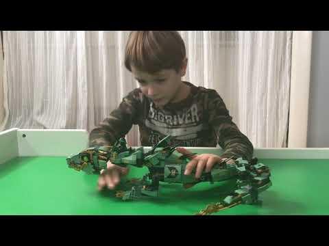 LEGO Ninjago Green Ninja Mech Dragon Review