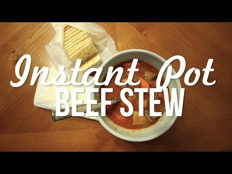 Instant Pot Beef Stew - So Yummy!!