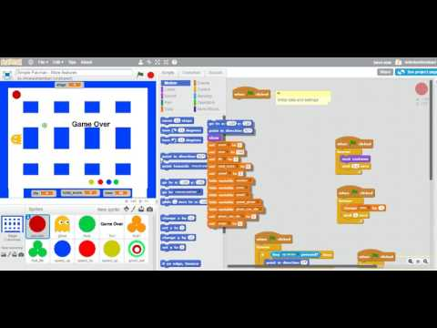 Scratch Simple Pacman - More Features 5 - Adding More Stages