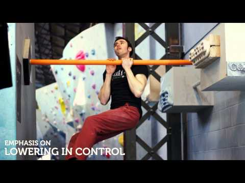 Strength training for climbing: on the bar